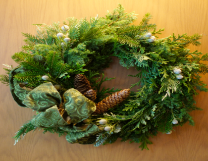 Merry Xmas Wreath ~ ever green ~